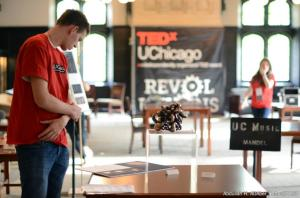 the Flow lamp is exhibited at TEDx UChicago
