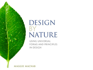 flow lamp has been published in Design by Nature