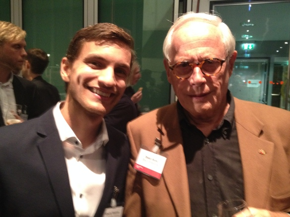 Alberto Vasquez with Dieter Rams